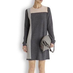 Vince 100% Cashmere Very Soft Gray Sweater Dress